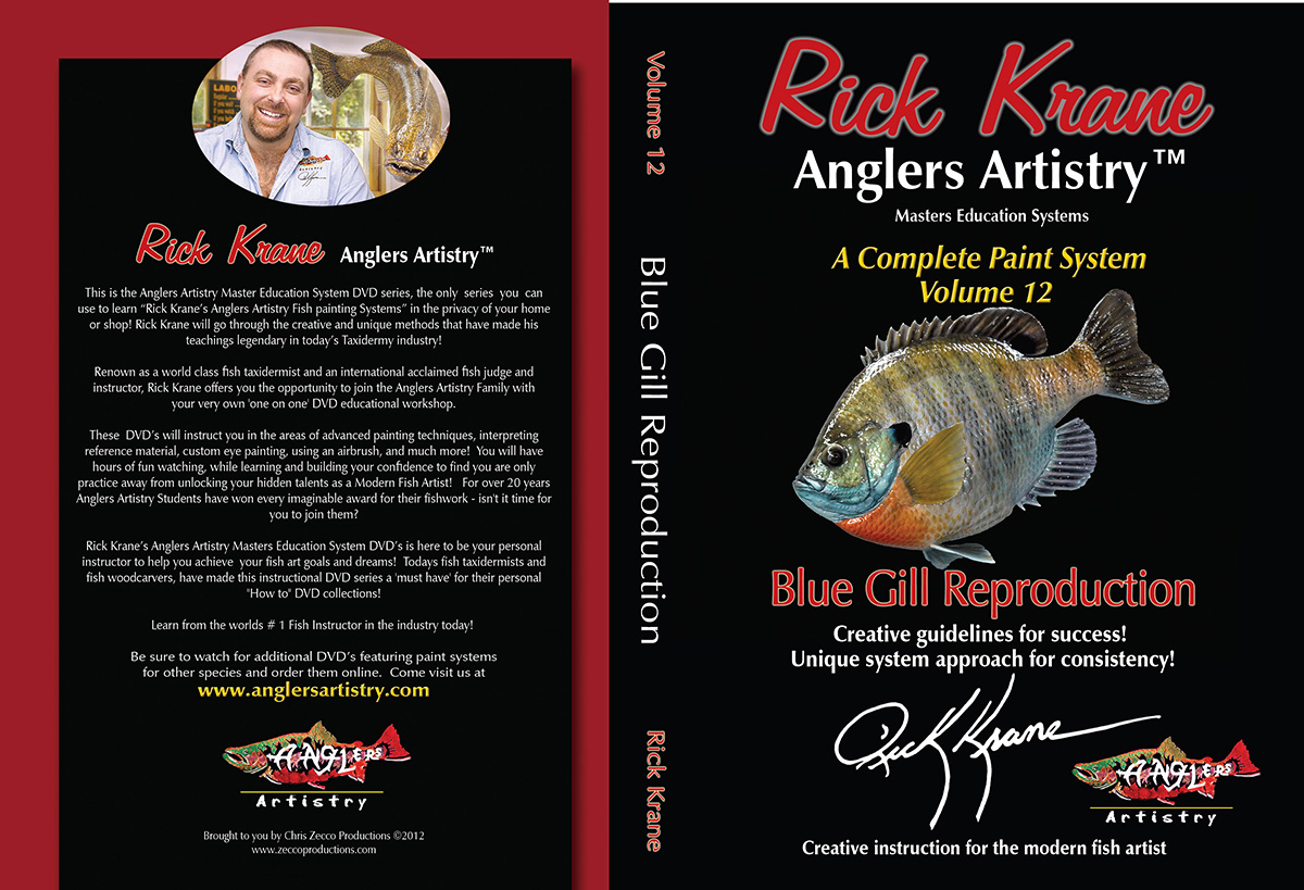 Volume 12 - Blue Gill Reproduction